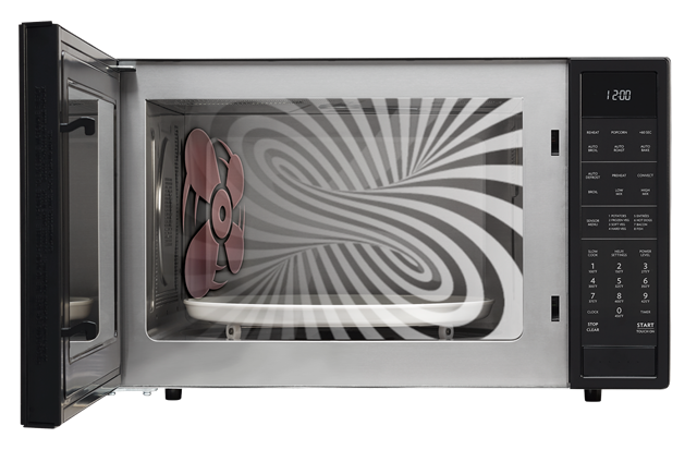 The Model S Convection Technology Circulates Heated Air To Cook Faster And More Evenly Combination Microwave Oven