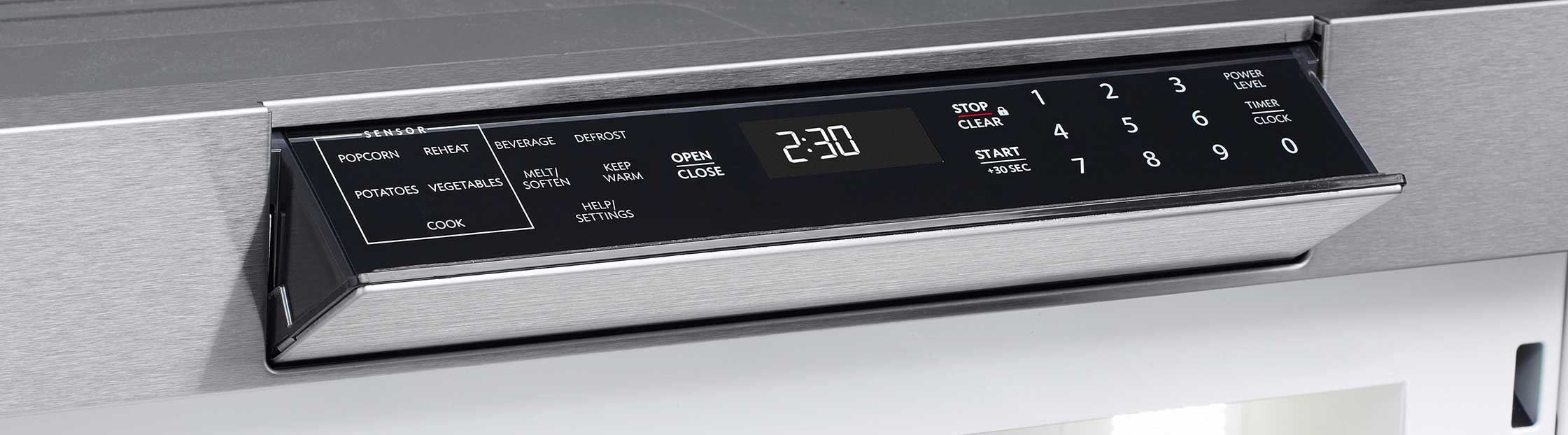 Hidden Control Panel The Smd3070as Microwave Drawer Oven
