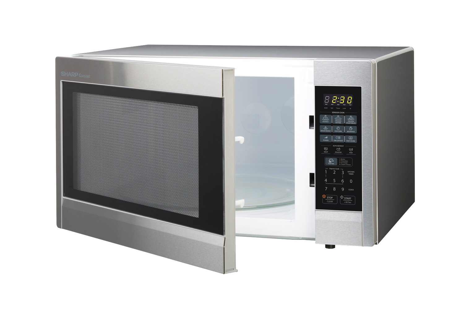 stainless steel countertop microwave r651zs u2013 left