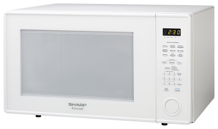 Sharp Countertop Microwave Oven 2 Cu Ft 1200w White R 659w