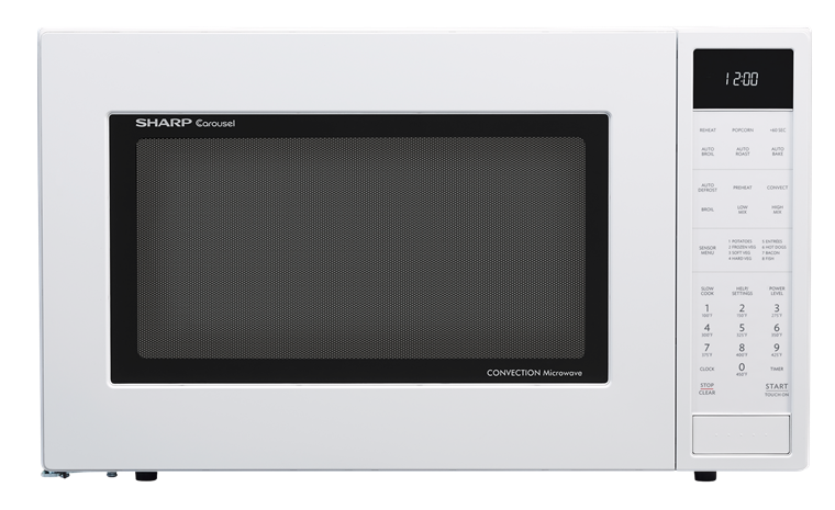 Sharp White Carousel Convection Microwave Smc1585bw Newer Version