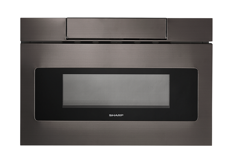 Smd2470ah 24 Inch Sharp Black Stainless Steel Microwave Drawer