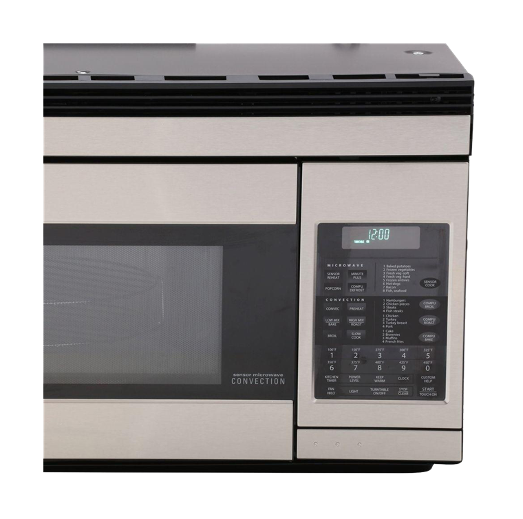 R-1874: 1.1 cu. ft. Sharp Stainless Steel Over-the-Range Microwave
