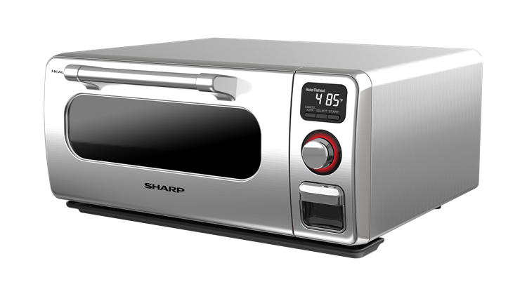 Sharp Superheated Steam Countertop Oven (SSC0586DS) – left angle view