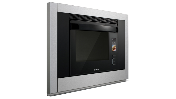 SuperSteam+TM Convection Steam Oven (SS-C3088AS) – right side view
