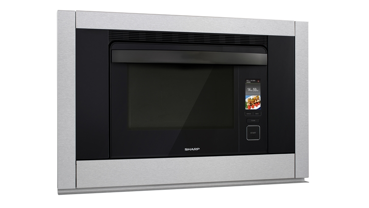 SuperSteam+TM Convection Steam Oven (SS-C3088AS) – right angle view