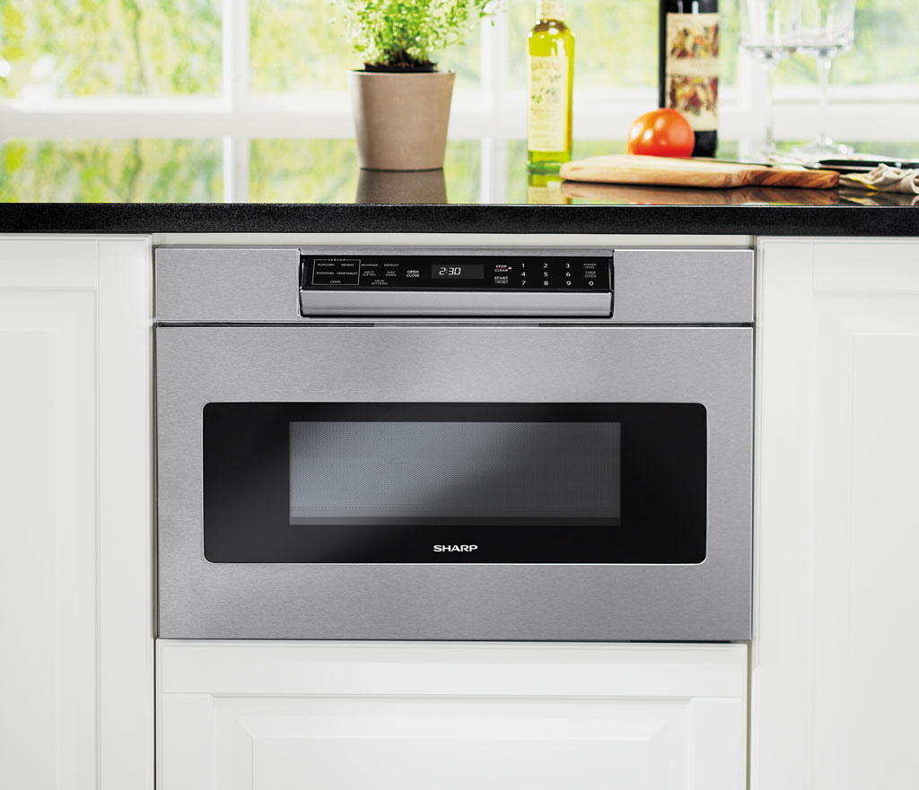 SMD2470AS-Y Microwave Drawer Oven: 24 Inch Drawer Ovens